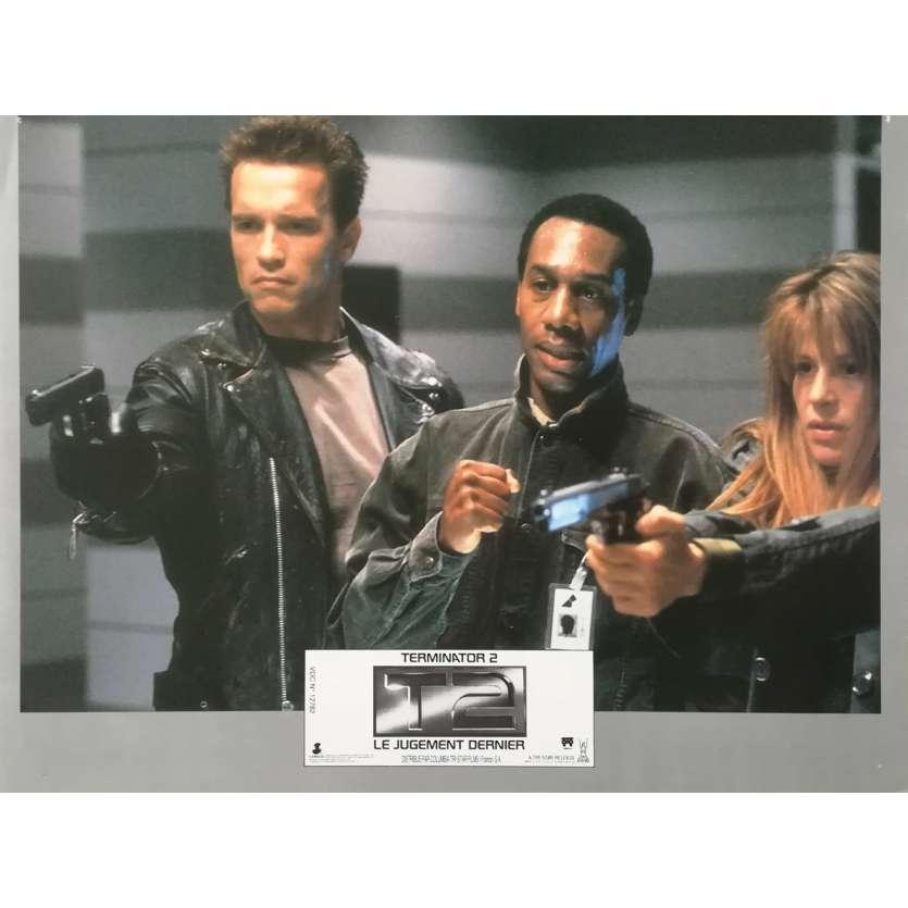 TERMINATOR 2 Original Lobby Card N01 - 9x12 in. - 1992 - James Cameron, Arnold Schwarzenegger