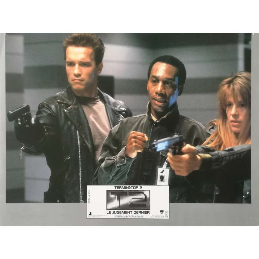 TERMINATOR 2 Photo de film N01 - 21x30 cm. - 1992 - Arnold Schwarzenegger, James Cameron