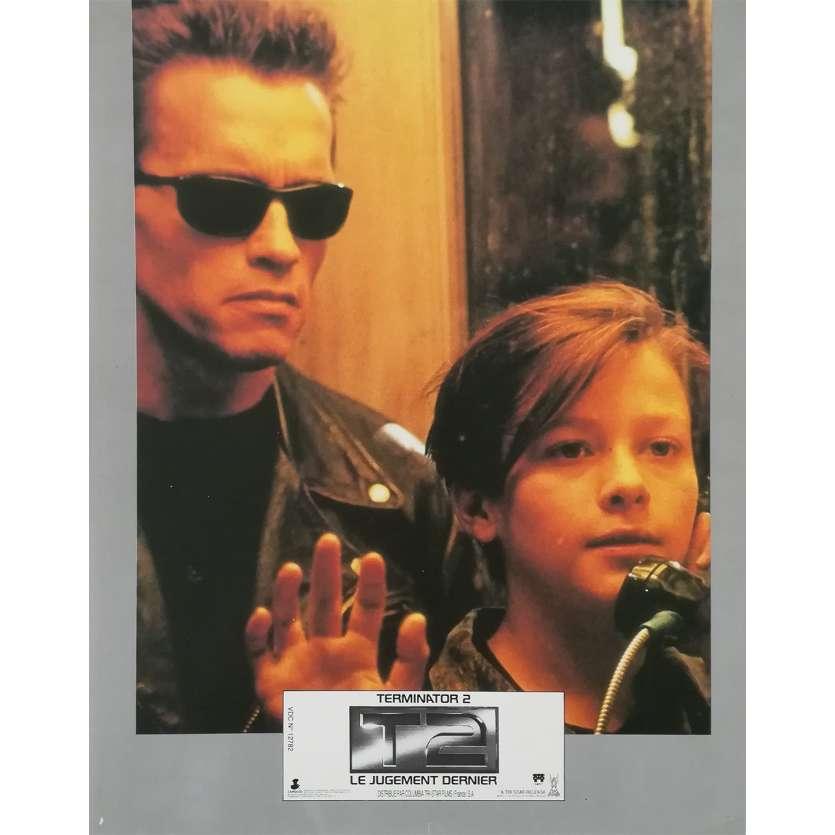 TERMINATOR 2 Original Lobby Card N08 - 9x12 in. - 1992 - James Cameron, Arnold Schwarzenegger