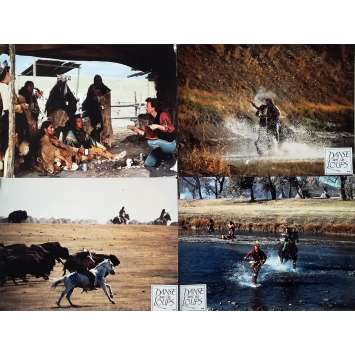 DANCE WITH WOLVES Original Lobby Cards x5 - 12x15 in. - 1990 - Kevin Costner, Mary McDowell