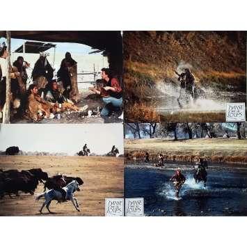 DANSE AVEC LES LOUPS Photos de film x5 - 30x40 cm. - 1990 - Mary McDowell, Kevin Costner