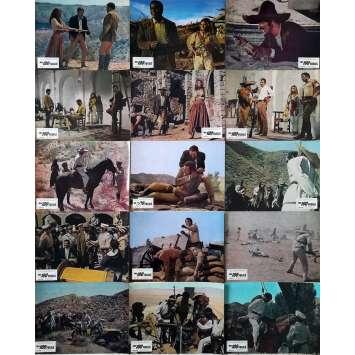LES 100 FUSILS Photos de film x15 - 21x30 cm. - 1969 - Jim Brown, Raquel Welch, Tom Gries