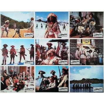 O'CANGACEIRO Photos de film x9 - 21x30 cm. - 1970 - Tomas Milian, Giovanni Fago