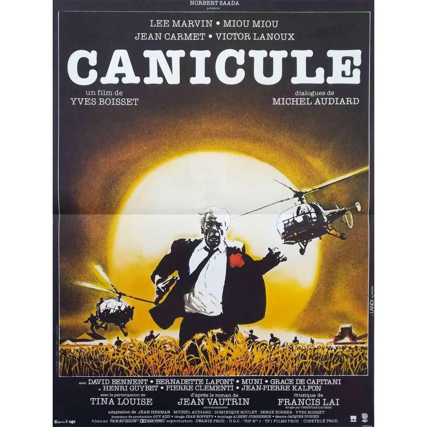 CANICULE Affiche 40x60 FR '84 Lee Marvin, Yves Boisset