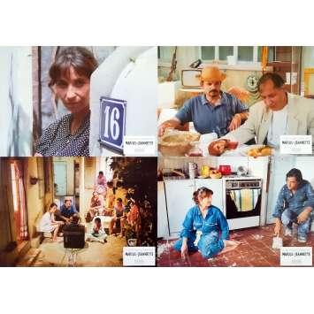 MARIUS ET JEANNETTE Photos de film x4 - 21x30 cm. - 1997 - Ariane Ascaride, Robert Guédigian