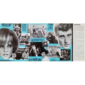 WHERE ARE YOU FROM, JOHNNY? Original Herald 6p - 10x12 in. - 1963 - Noël Howard, Johnny Hallyday, Sylvie Vartan