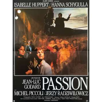 PASSION Original Movie Poster - 15x21 in. - 1982 - Jean-Luc Godard, Isabelle Huppert