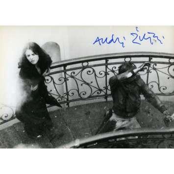 POSSESSION Original Signed Photo - 3,5x5,5 in. - 1981 - Andrzej Żuławski, Isabelle Adjani
