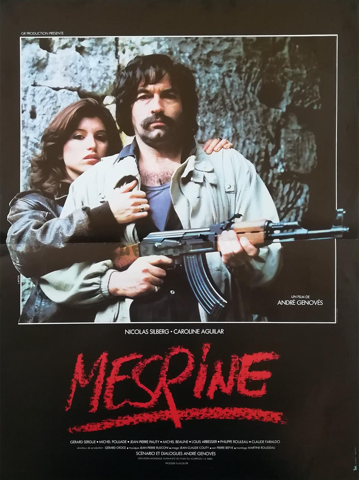 Mesrine Movie Poster 15x21 In