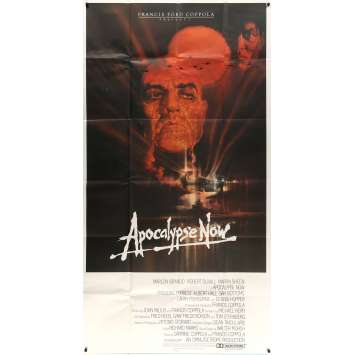 APOCALYPSE NOW Rare 3sh Movie poster - 1979 - Coppola, Brando, 3 sheet