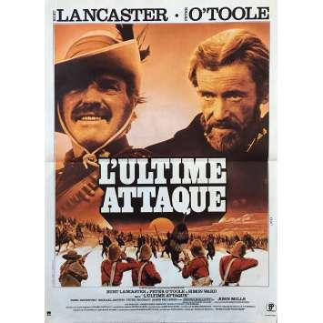 ZULU DAWN French Movie Poster 15x21 '79 Burt Lancaster, Peter O'Toole