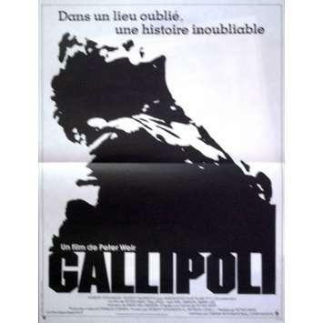GALLIPOLI Affiche 40x60 '83 Mel Gibson, Peter Weir Movie Poster