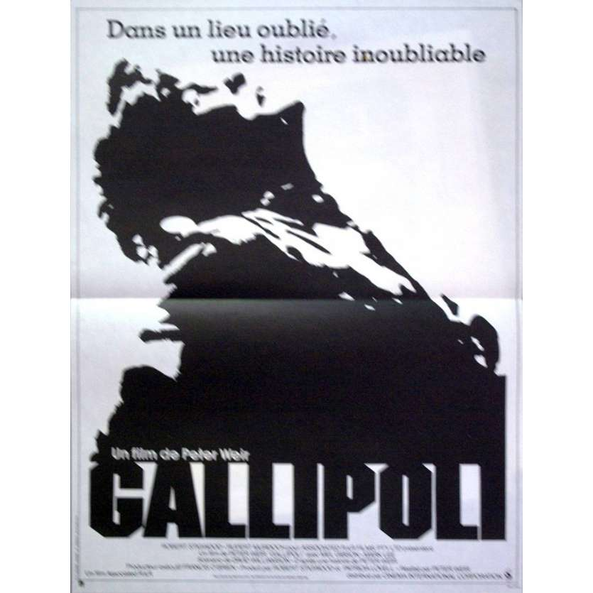 GALLIPOLI Affiche 40x60 '83 Mel Gibson, Peter Weir Movie Poster