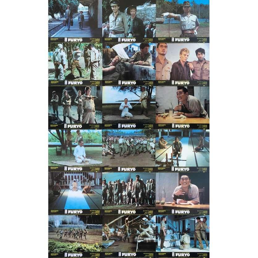FURYO Photos de film x18 - 24x30 cm. - 1983 - David Bowie, Nagisa Oshima