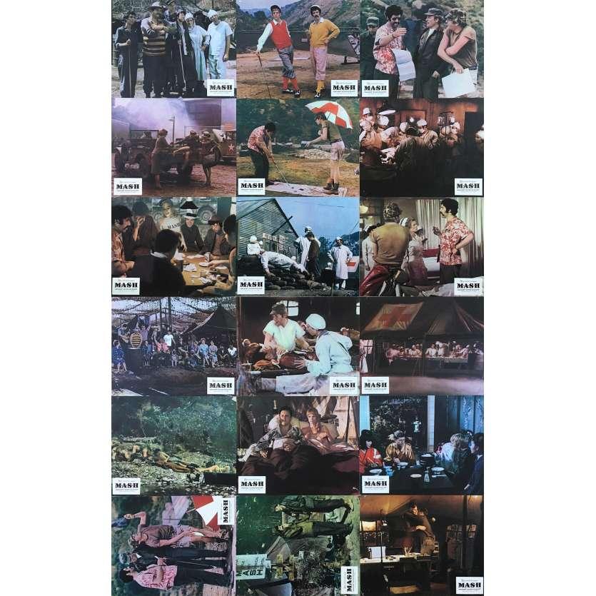 MASH Photos de film x18 - 21x30 cm. - 1972 - Donald Sutherland, Robert Altman