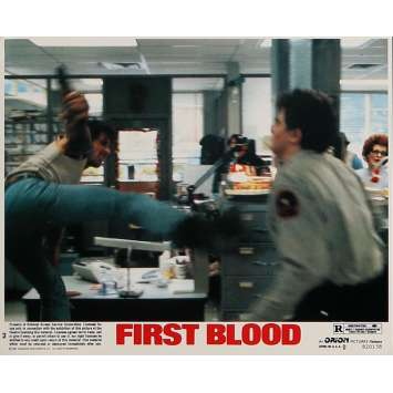 RAMBO Photo de film N02 - 20x25 cm. - 1982 - Sylvester Stallone, Ted Kotcheff
