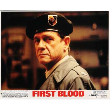 RAMBO - FIRST BLOOD Original Lobby Card N04 - 8x10 in. - 1982 - Ted Kotcheff, Sylvester Stallone