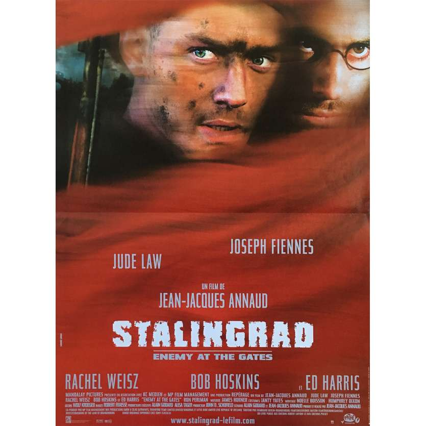 STALINGRAD French Movie Poster 15x21 '01 Annaud, Jude Law