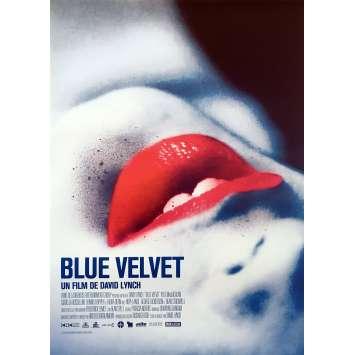 BLUE VELVET Original Movie Poster - 15x21 in. - R2010 - David Lynch, Isabella Rosselini