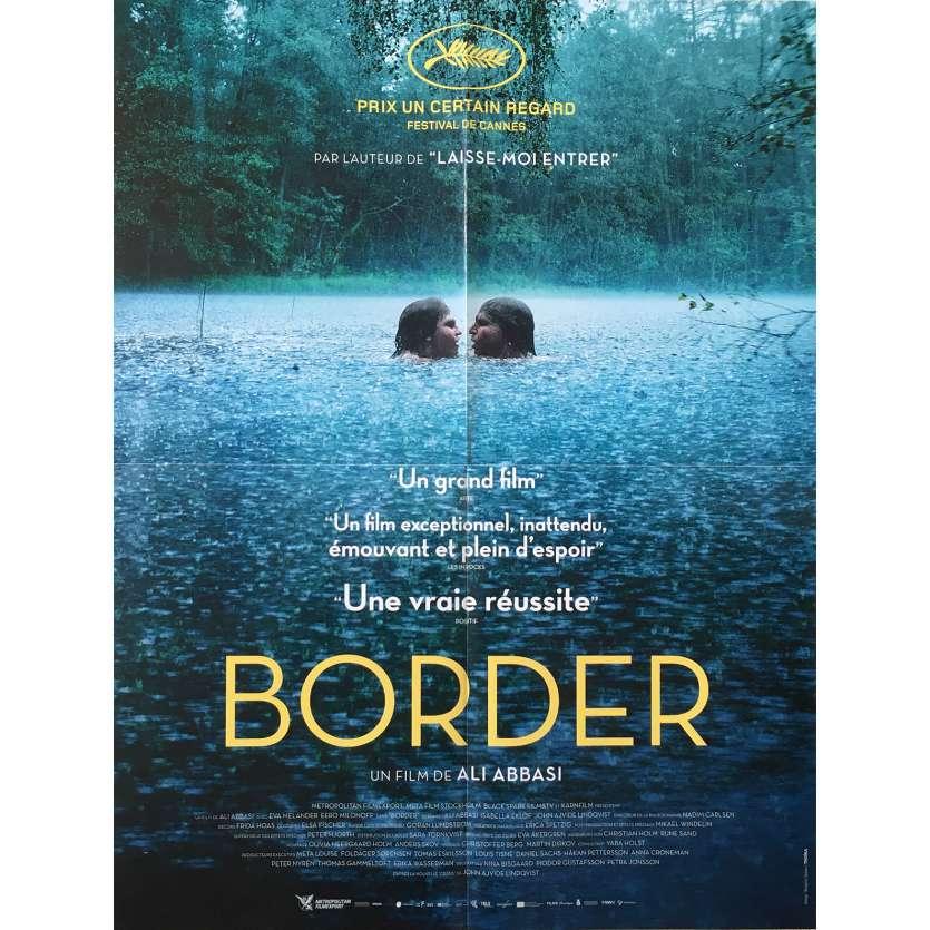 BORDER Affiche de film - 40x60 cm. - 2018 - Eva Melander, Ali Abbasi