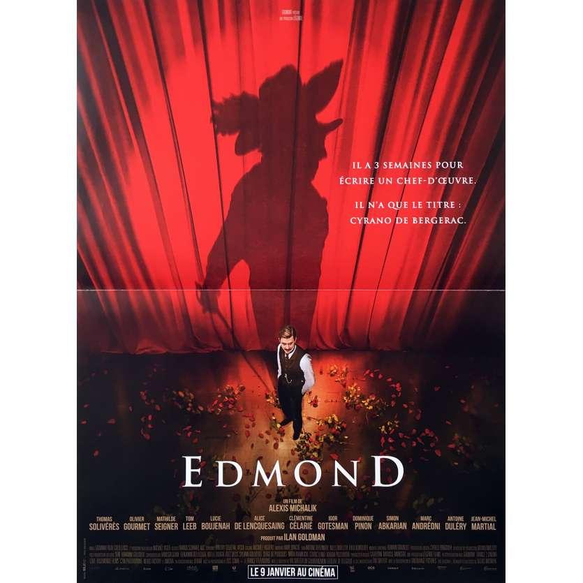 EDMOND Affiche de film - 40x60 cm. - 2018 - Thomas Solivérès, Alexis Michalik