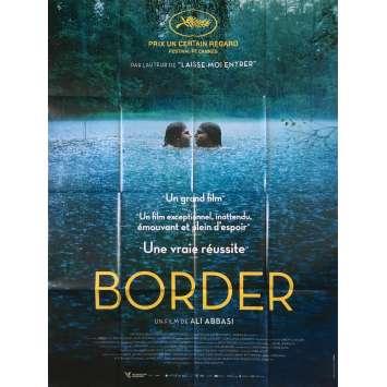 BORDER Original Movie Poster - 47x63 in. - 2018 - Ali Abbasi, Eva Melander