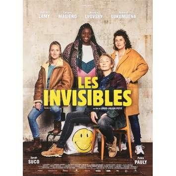 LES INVISIBLES Affiche de film - 40x60 cm. - 2018 - Patricia Mouchon, Louis-Julien Petit