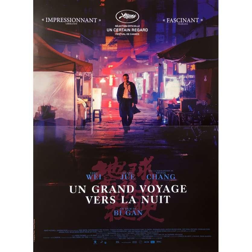 UN GRAND VOYAGE VERS LA NUIT Affiche de film - 40x60 cm. - 2018 - Sylvia Chang, Gan Bi