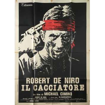 THE DEER HUNTER Original Movie Poster - 39x55 in. - 1978 - Michael Cimino, Robert de Niro