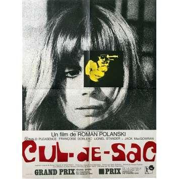 CUL-DE-SAC Affiche de film - 60x80 cm. - 1966 - Donald Pleasance, Roman Polanski