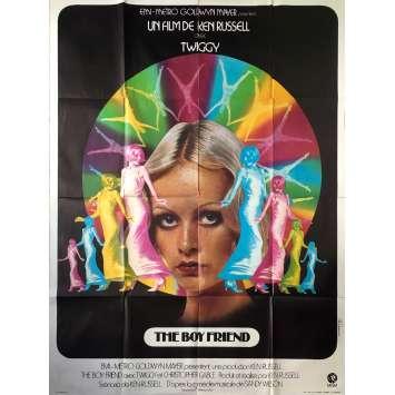 THE BOYFRIEND Affiche de film - 120x160 cm. - 1971 - Twiggy, Ken Russel