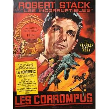 THE CORRUPT ONES Original Movie Poster - 23x32 in. - 1967 - Frank Winterstein, Robert Stack