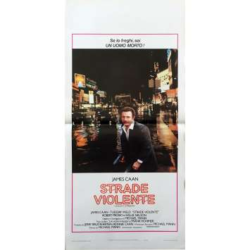 THE THIEF Original Movie Poster - 13x28 in. - 1981 - Michael Mann, James Caan