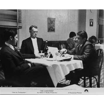 LE PARRAIN Photo de presse N03 - 20x25 cm. - 1972 - Marlon Brando, Francis Ford Coppola