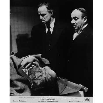 LE PARRAIN Photo de presse N05 - 20x25 cm. - 1972 - Marlon Brando, Francis Ford Coppola