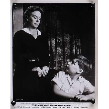 THE MAN WHO KNEW TOO MUCH Original Movie Still N12 - 8x10 in. - 1954 - Alfred Hitchcock, James Stewart