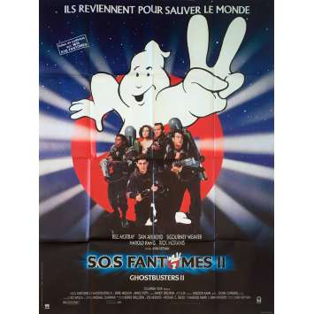 GHOSTBUSTERS 2 Affiche de film - 120x160 cm. - 1989 - Bill Murray, Ivan Reitman