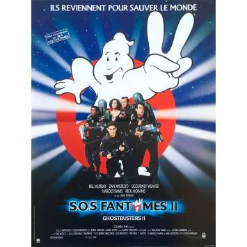 GHOSTBUSTERS Movie Poster 15x21 in. French - 1984 - Ivan Reitman, Bill Murray, Dan Aykroyd