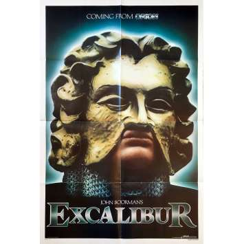 EXCALIBUR Movie Poster '81 John Boorman
