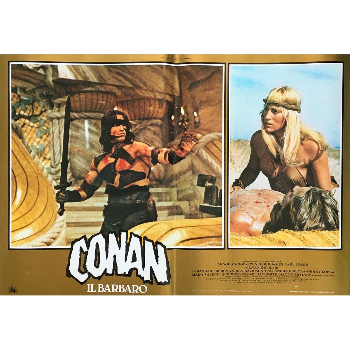 Affiche De CONAN LE BARBARE / CONAN THE BARBARIAN