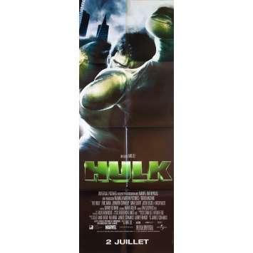 HULK Affiche de film - 60x160 cm. - 2003 - Eric Bana, Ang Lee