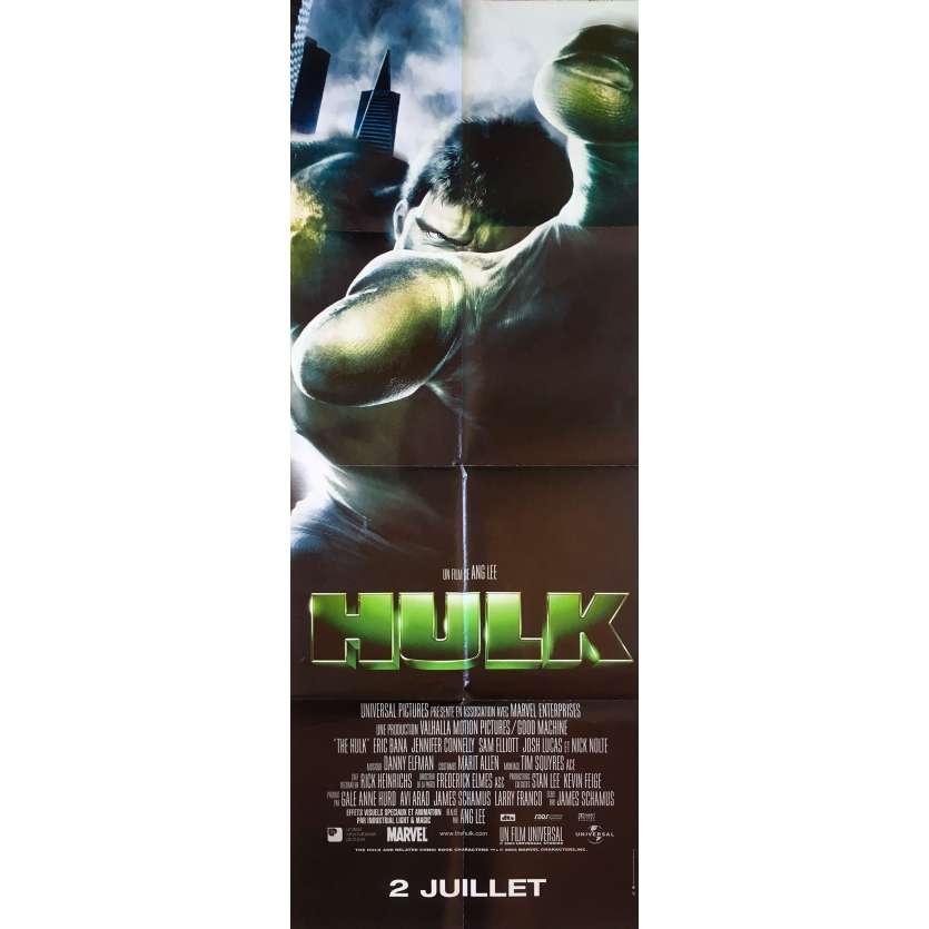 HULK Original Movie Poster - 23x63 in. - 2003 - Ang Lee, Eric Bana