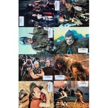 THE ARCHER AND THE SORCERESS Original Lobby Cards x8 - 9x12 in. - 1981 - Nicholas Corea, Lane Caudell