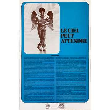 HEAVEN CAN WAIT Original Herald 4p - 9x12 in. - 1978 - Warren Beatty, Julie Christie