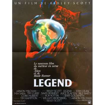 LEGEND Affiche de film - 40x60 cm. - 1986 - Tom Cruise, Ridley Scott