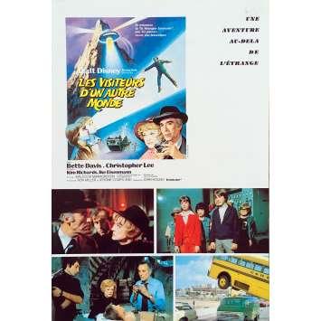 LES VISITEURS D'UN AUTRE MONDE Synopsis 2p - 21x30 cm. - 1978 - Christopher Lee, John Hough