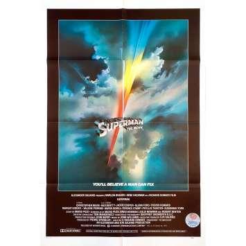 SUPERMAN Affiche de film Intl - 69x102 cm. - 1978 - Christopher Reeves, Richard Donner