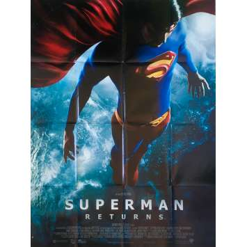 SUPERMAN RETURNS Original Movie Poster - 47x63 in. - 2006 - Bryan Singer, Brandon Routh
