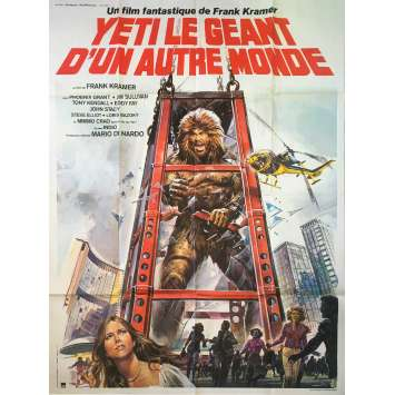 YETI GIANT OF THE 20TH CENTURY Original Movie Poster - 47x63 in. - 1977 - Gianfranco Parolini, Antonella Interlenghi