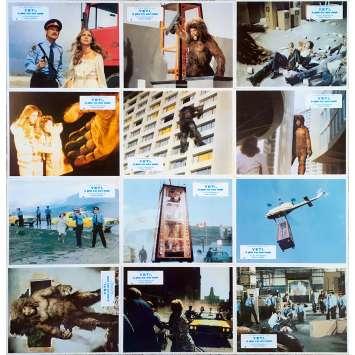 YETI LE GEANT D'UN AUTRE MONDE Photos de film x12 - 21x30 cm. - 1977 - Antonella Interlenghi, Gianfranco Parolini